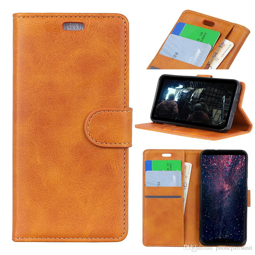 best service fd7df 75b81 Luxury PU Leather Cover Case For Alcatel 1C 5009A 3 5052Y 5 5086A 5086Y A7  U5 Plus Alcatel 1X 3V 3X Alcatel 3C Case Wallet Flip Cover Bag