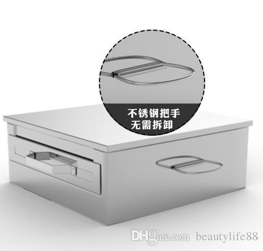 Machine à riz domestique à vapeur mini version petite Four à vapeur à traction intestinale tiroir à poudre en acier inoxydable