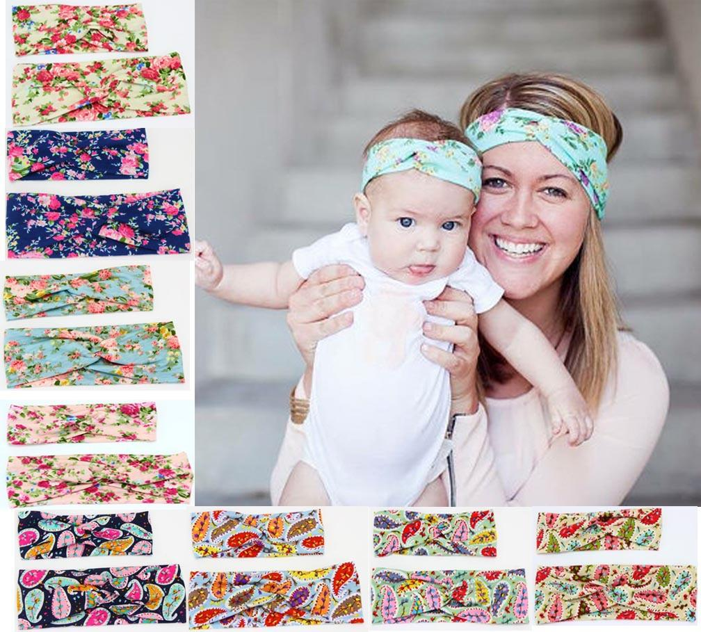 Baby Kids Mom Headbands Flower Mother Daughter Headbands Cross Knot  Hairbands Set Mom Daughter Hair Accessories Buy Hair Accessories Online  Hair Accessories ... 7093e1552b1