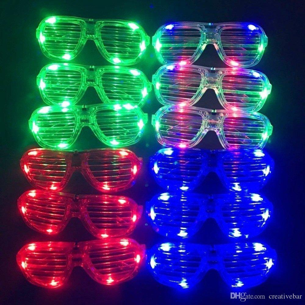lighting frames. Unisex Flashing Plastic Glow LED Glasses Light Up Shades Show Sunglasses Frames Toy Party Favors Supplies Online Lighting A