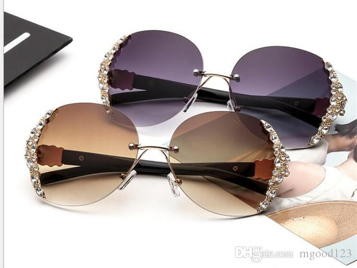 Compre Las Marcas Europeas Y Americanas De Trend Establecen Gafas De Sol  Elegantes Y Elegantes De Metal. A  19.6 Del Mgood123  832e74aea009