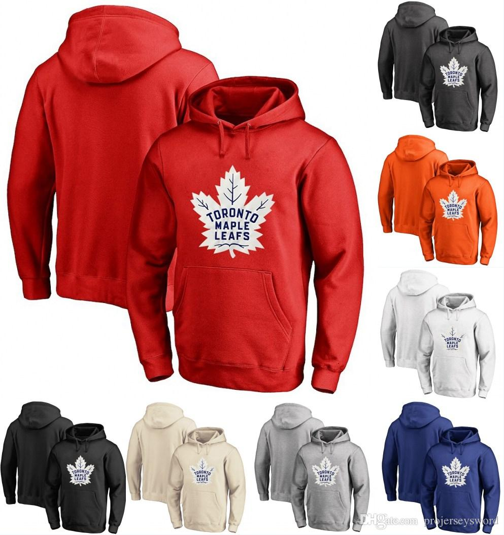 best website 96d2f 5ec04 Toronto Maple Leafs Hoodie 33 Frederik Gauthier 63 Tyler Ennis 28 Connor  Brown Personalized Custom Hockey Sweatershirt Jerseys
