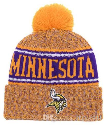 New Fashion Unisex Winter Minnesota Hats for Men women Knitted Beanie Wool Hat Man Knit Bonnet Beanie Gorro Warm Cap