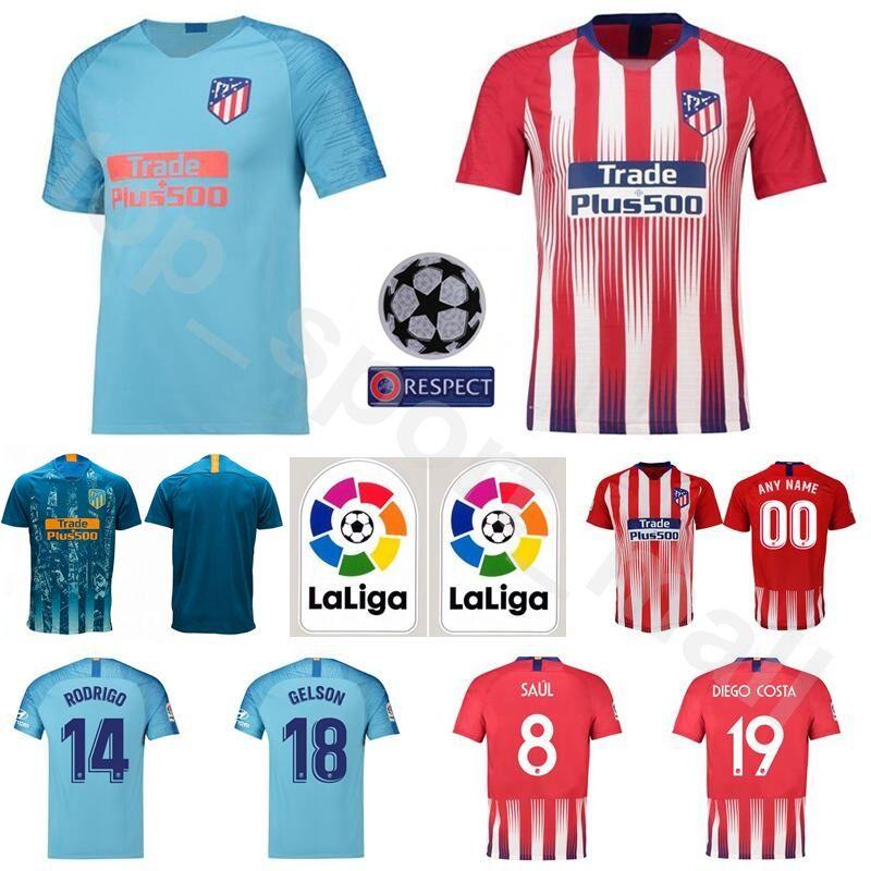 Maillot Domicile Atlético de Madrid Rodrigo