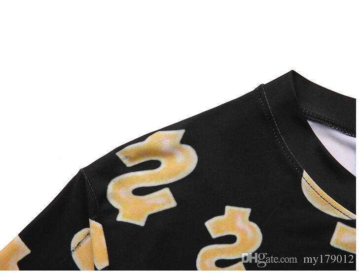 Hot 2018 nouveaux hommes d'été O cou t-shirt en coton lettre couleur unie t-shirt à manches courtes marque t-shirt pour hommes, plus la taille