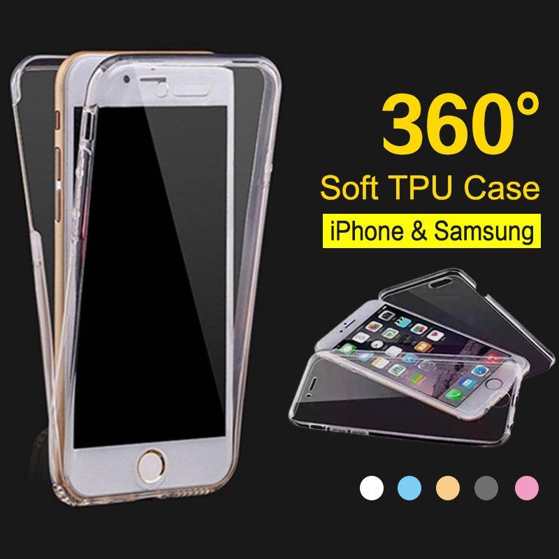 coque iphone xr 360 degré transparente