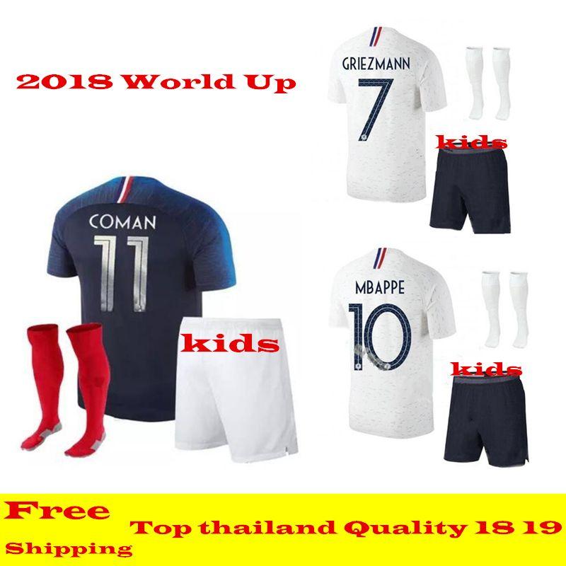 france football home kit 2018