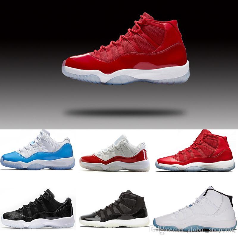 Cheap 2018 Retro 11 Women Men Basketball Shoes Barons 72-10 Gym Red Midnigh  Navy Women Men Sneaker US 5.5-13 Retros 11 Basketball Shoes Sports Shoes  Online ...