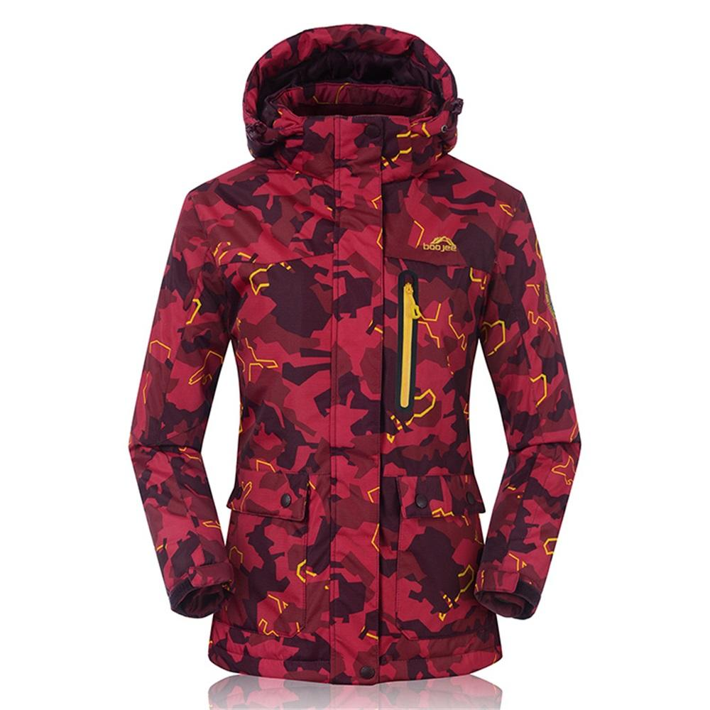 83fdd981b4dcc 2019 2016 30 Degree Thermal Winter Women S Snowboard Jacket Hooded  Waterproof Breathable Female Ski Wear Camping Coats Camo Print From Suipao