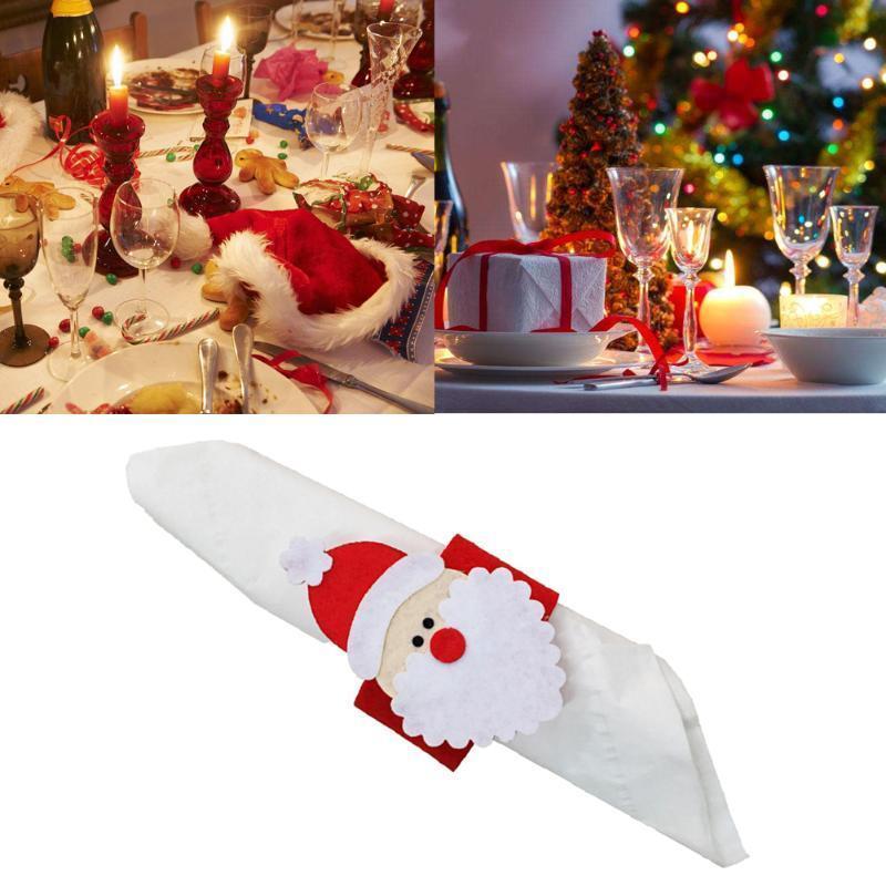 Capodanno A Casa Di Babbo Natale.Acquista 4 Pezzi Capodanno Decorazione Di Babbo Natale
