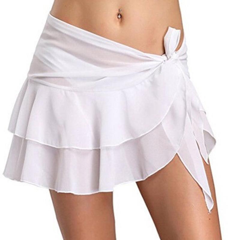 ed4ec7a900 Compre 2019 Moda De Verano Falda De Las Mujeres Sexy Irregular Casual Faldas  Cortas De Cintura Arco Atado Señoras Mini Falda Ropa Femenina A  18.31 Del  ...