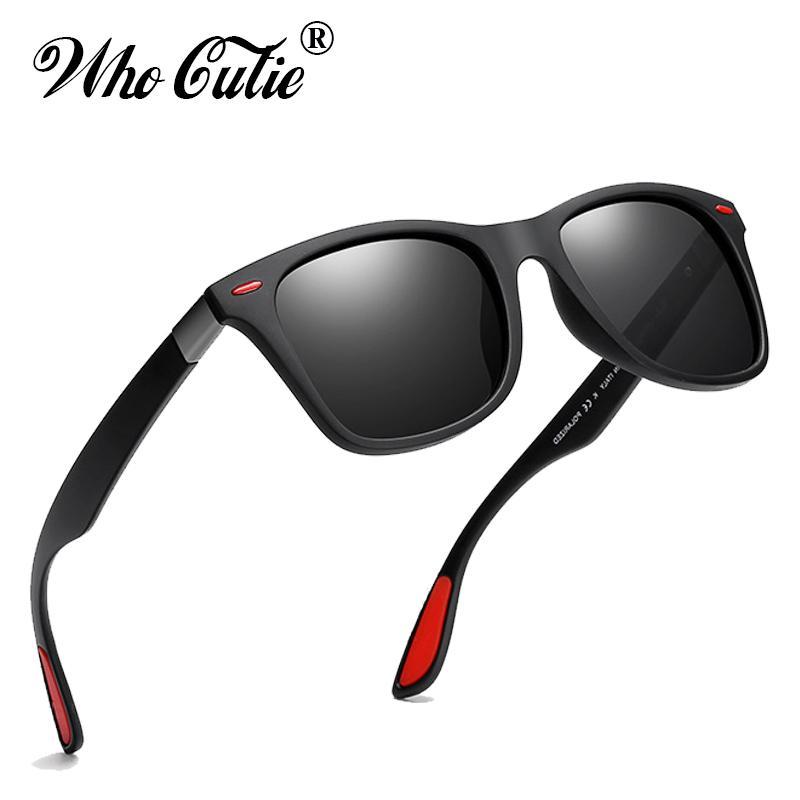ca98d225aa4e3 Compre 2019 Clássico Polarizada Óculos De Sol Dos Homens Marca Designer De  Alta Qualidade Quadrado Quadro Legal Masculino Condução Óculos De Sol Ray  ...