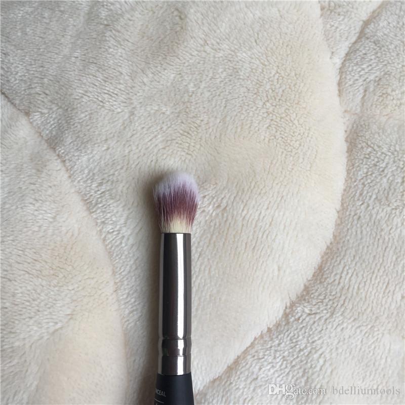 HEAVENLY LUXE COMPLEXION PERFECTION FIRÇA # 7 Çift Uçlu Kalite Yüz Kontur Kapatıcı Fırça - Güzellik Makyaj Fırçaları Blender