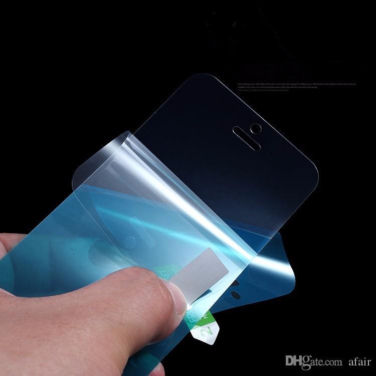 Ultra-delgada pantalla NANO Protector suave a prueba de explosiones resistente a los arañazos protector de la película protectora para el iPhone 11 Pro Max X XS XR 8 7 6 Plus