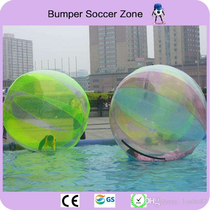 Factory Price 2m 0.8mm Inflatable Water Walking Ball Zorb Balloon Giant Water Ball Inflatable Human Hamster Ball