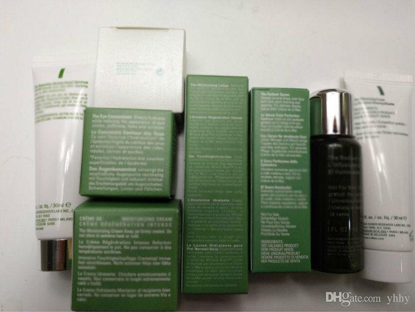 Hot Brand skin care sets of facial cream eye skin moisturizing soft lotion cream balm intense kits Foam Brightening