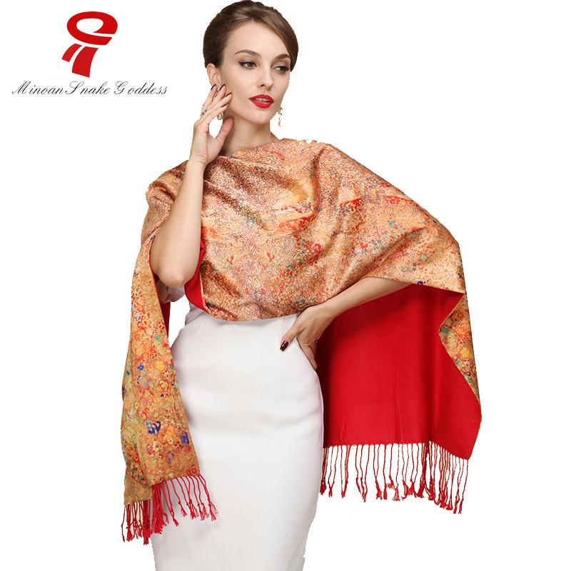 4d71e22df4b Acheter Foulard En Soie 100% Soie Satin Long Doux Écharpe Femmes Châles  Bandana Marque De Luxe Femme Foulard En Soie Qualité Imprimer Hijab Wrap De   24.56 ...