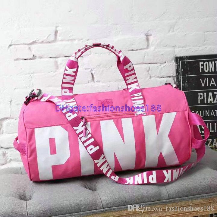 bf1bc9daaf3d Factory Hot Fashion Casual High Quality New Vs Sports Bag Women S Duffel  Bags Yoga Bag Beach Pink Travel Bag More Color A Sport Bags Duffle Bags For  Men ...