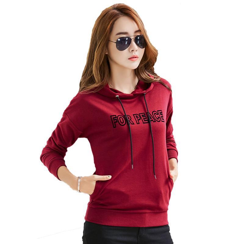 1b18796ce Discount Harajuku Hoodies Sweatshirts Women Autumn And Winter New ...