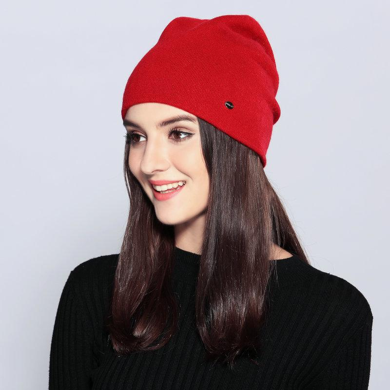 Lady Warm Knitted Hat Girls Wool Cap Ladies Knitting Cap Double Layer Ear  Protection Woolen Knitted Hat Adjustable B 9368 Beanies For Girls Baby Hat  From ... fde9662365d