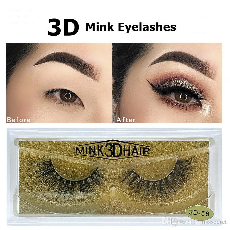 Eyelashes 3d Mink Eyelashes Mink Lashes Eyelash Makeup Long Thick