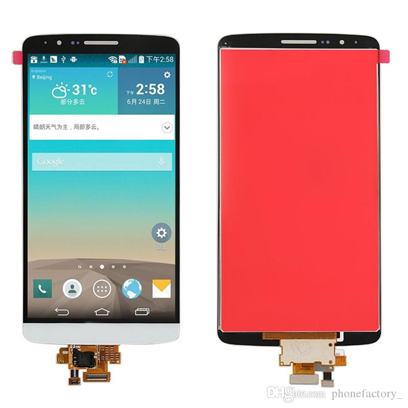 Display LCD originale da 5.0 pollici LG G3 D850 D851 D855 VS985 LCD LS990 Display + Touch Screen Digitizer Assembly