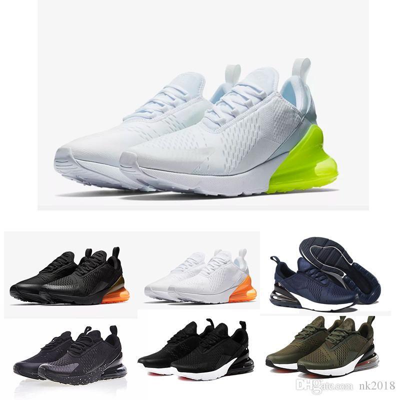 on sale 974e2 1c527 Acheter Nike Air Max Nouveau Design 2018 Air Hommes 270 Chaussures De  Course Flair Triple Noir 27c Og Presto Ah8050 Racer Basketball Tn Plus  Chaussure Us 5 ...