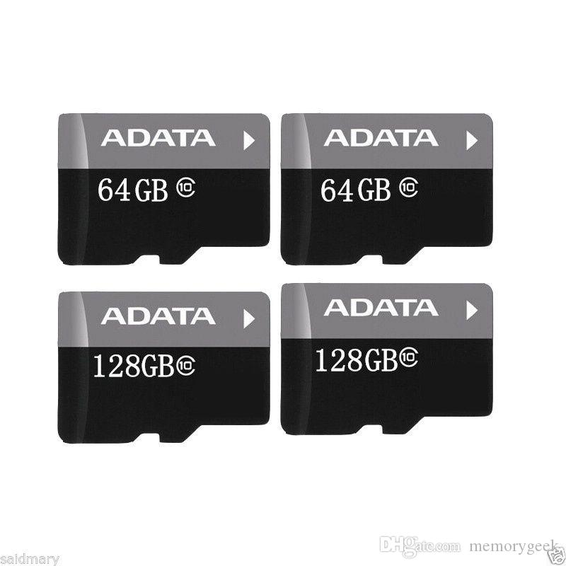 New arrived Memory Card 256GB 32GB 64GB 128GB ADATA Micro SD Card MicroSD TF C10 SD Adapter Retail Package