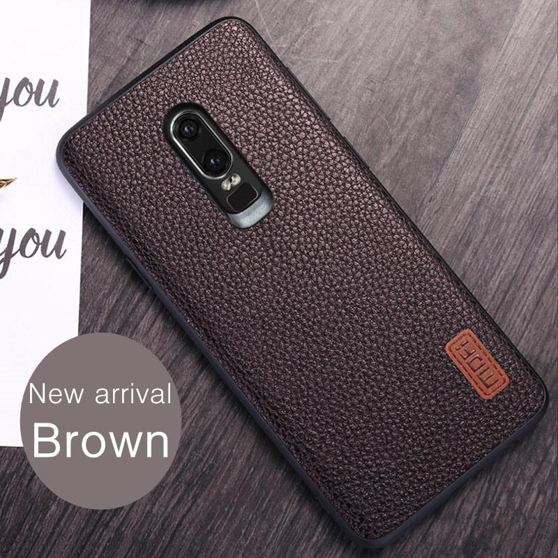 best loved af4eb 85226 wholesale Oneplus 6 case cover PU leather one plus 6 case back cover red  black blue 1 6 oneplus6 case capa coque funda protect 6.28