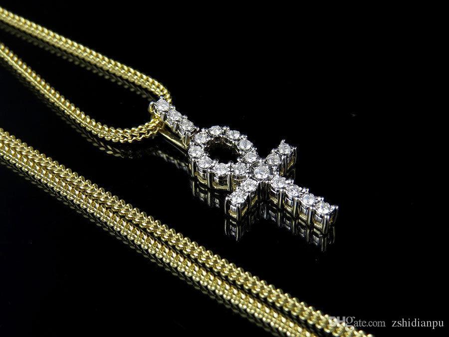 b1c663a8dee8 Oro Compre Cadena Colgante Genuino Combo De Diamante QxtrdshC