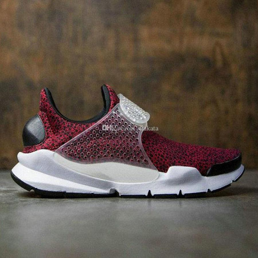 High Quality Sock Dart QS Safari Pack Casual Shoes fashion Men and Women 2017 New Sports Running Shoes