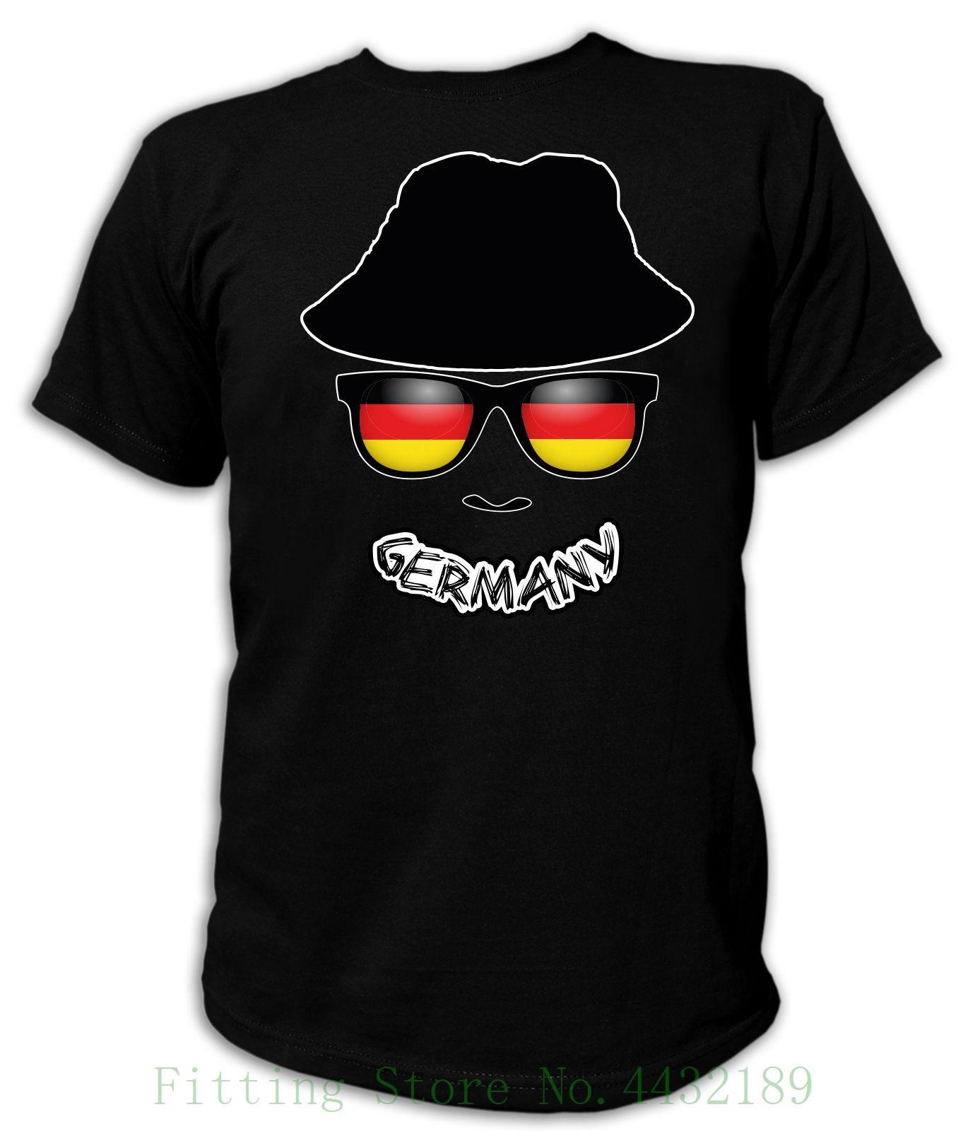 c6aaba12ddda4 Compre Camiseta Bandeira Do Crânio Do Fã Fahne Deutschland Ger Alemanha  Allemagne D Fu  A Bola Soccerite Cobre A Camisa Legal De T De  Aaa888tshirts