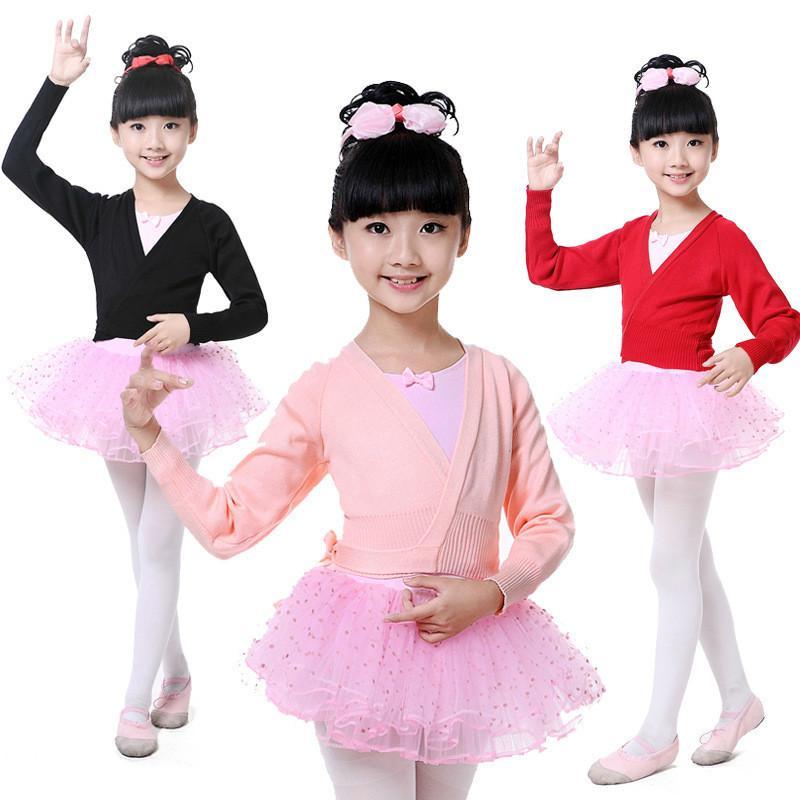 6b35eeaaa 2019 Ballerina Long Sleeves Gymnastics Leotard For Girls Cotton ...