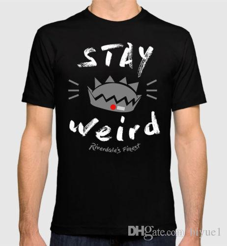 c14a69e6a Riverdale 'Stay Weird' T Shirt, Men'S Women'S All Sizes Style Vintage Tees  Short Sleeve Funny Top Tee Order Tee Shirts T Shirt With Design From  Biyue1, ...