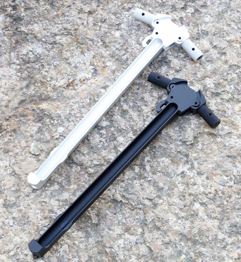 5.56 GBB M4 / AR15 시리즈 장난감 총을위한 신식 CNC 알루미늄 코킹 충전 핸들 확장 래치