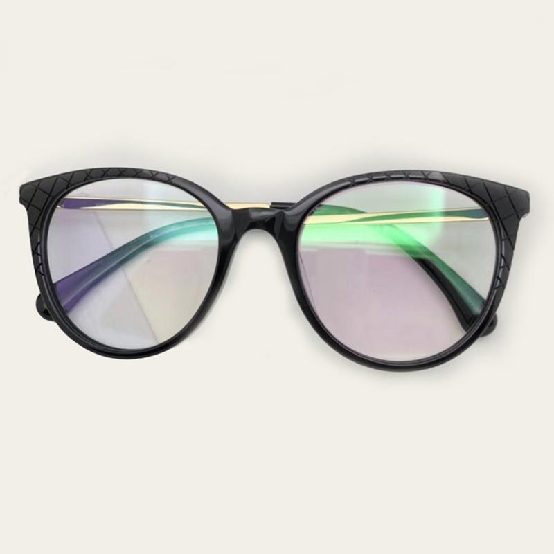 Acétate Optique Lunettes Cadre Pour Les Femmes
