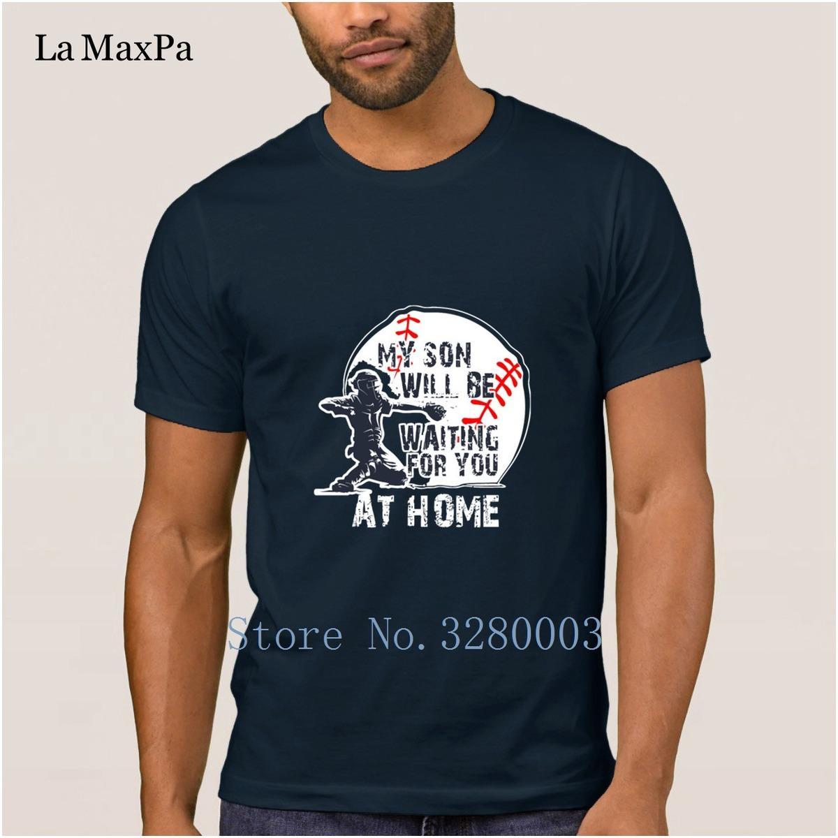 La Maxpa Design Fashion Mens T Shirt My Son Will Be Waiting T Shirt