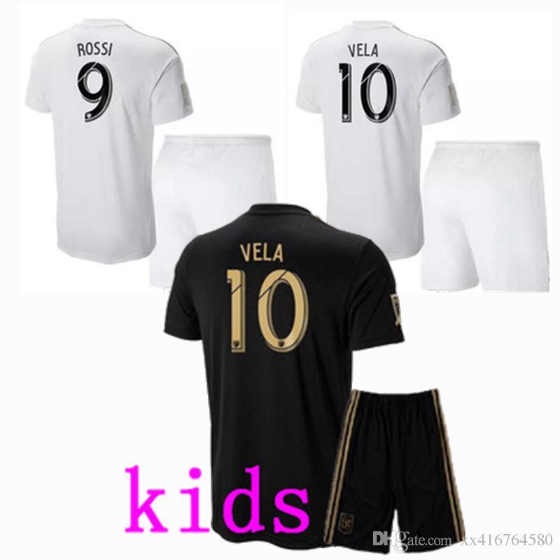 4275d310b 2018 2019 LAFC Carlos Vela Kids Soccer Jersey Football GABER ROSSI CIMAN  ZIMMERMAN Shirt Los Angeles Fc LAFC KIDS Vela KIDS Jersey Los Angeles KIDS  Shirt ...