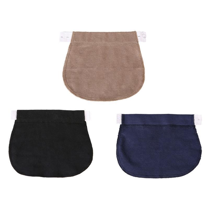 a4adfa250 Compre KLV 1 UNID Pantalones De Maternidad Embarazadas Cinturón Elsatic Cintura  Extendiendo El Botón Ropa Cómoda Ropa De Maternidad A  33.45 Del Deve ...