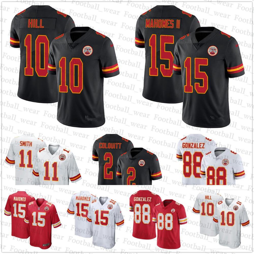 647261f0a ... coupon code 2018 kansas city chiefs jersey 15 patrick mahomes ii 88  tony gonzalez 19 joe