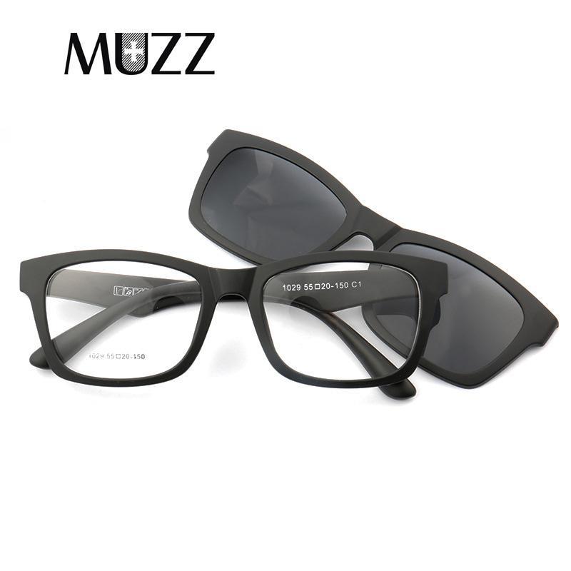 1a0ea74216 Clip On Sunglasses Prescription Glasses Frame Men Flip Up Clips Lenses  Driving Sun Glasses Polarized Lens Dual Purpose Sunglasse Best Sunglasses  Dragon ...