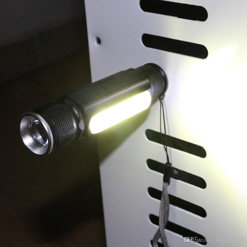 Taşınabilir USB Led El Torch COB LED Kalem Işık Klip Mıknatıs USB Şarj Edilebilir Çalışma Torch Fener Muayene Lambası