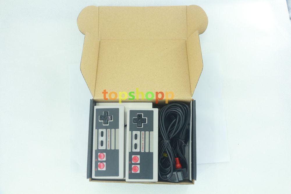 Nouvelle arrivée Mini TV Console de jeu vidéo Ordinateur de poche pour les jeux NES avec des boîtes de vente au détail pouvant contenir 500 620 jeux gratuits DHL