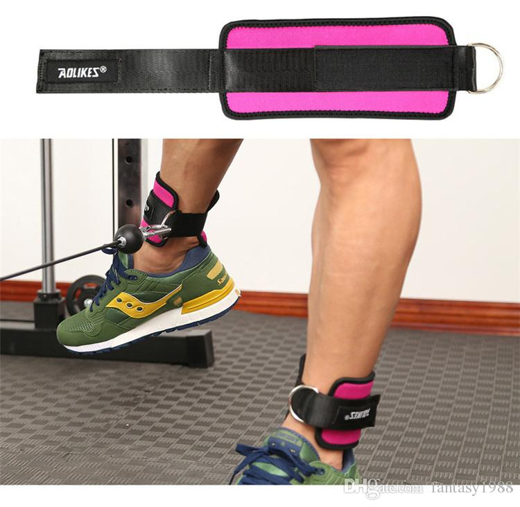 Fitness Ayak Halka Ayak Bileği Sapanlar Ayak Desteği Ayak Bileği Koruyucusu Spor Bacak Çatal Toka Spor Ayaklar Guard Hızlı Kargo