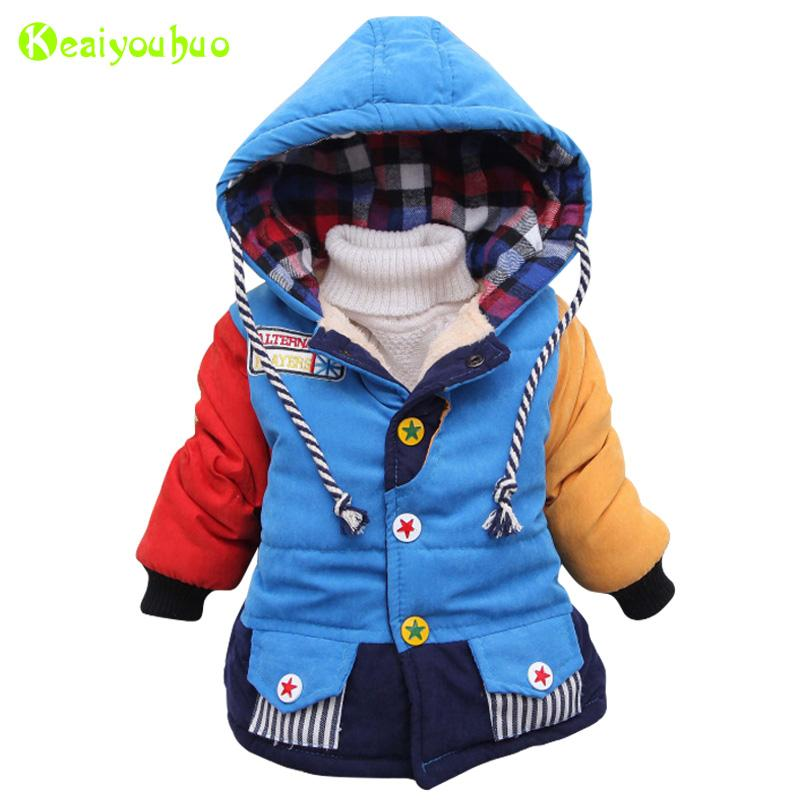 a702ec0d7 Baby Boys Jacket 2018 Autumn Winter Jacket For Boys Coat Kids Warm ...