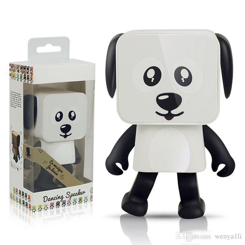 Intelligente Tanzen-Hundelautsprecher Mini-Karikatur Bluetooth Tanz-Roboter-Hundelautsprecher reizend für das Kindergeschenk