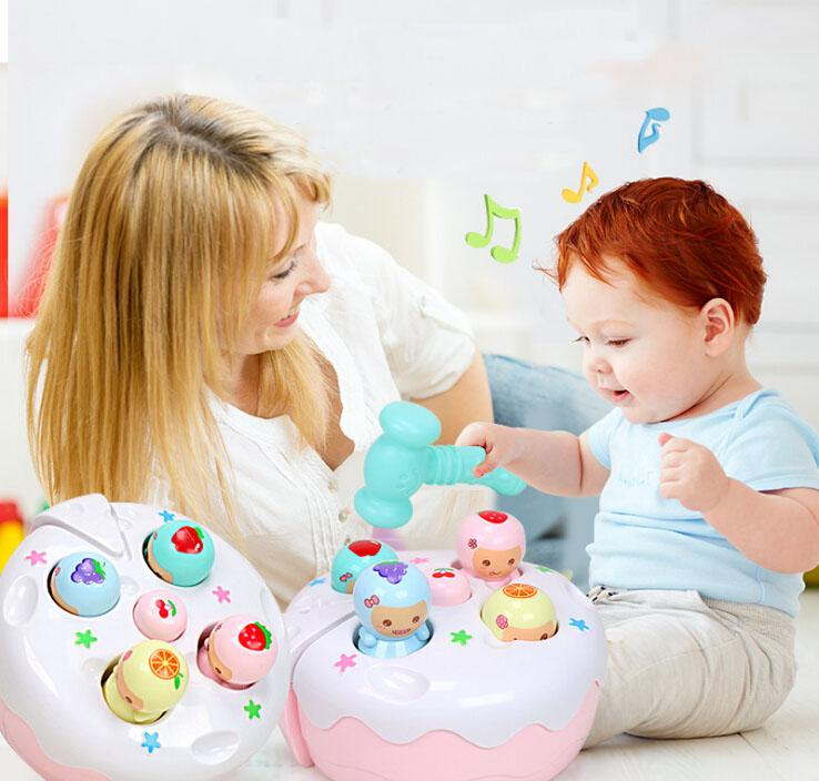 Intelligence toys Children's educational toys baby hamster toys toddler puzzle large boys tap 0-1-2-3 year old girl