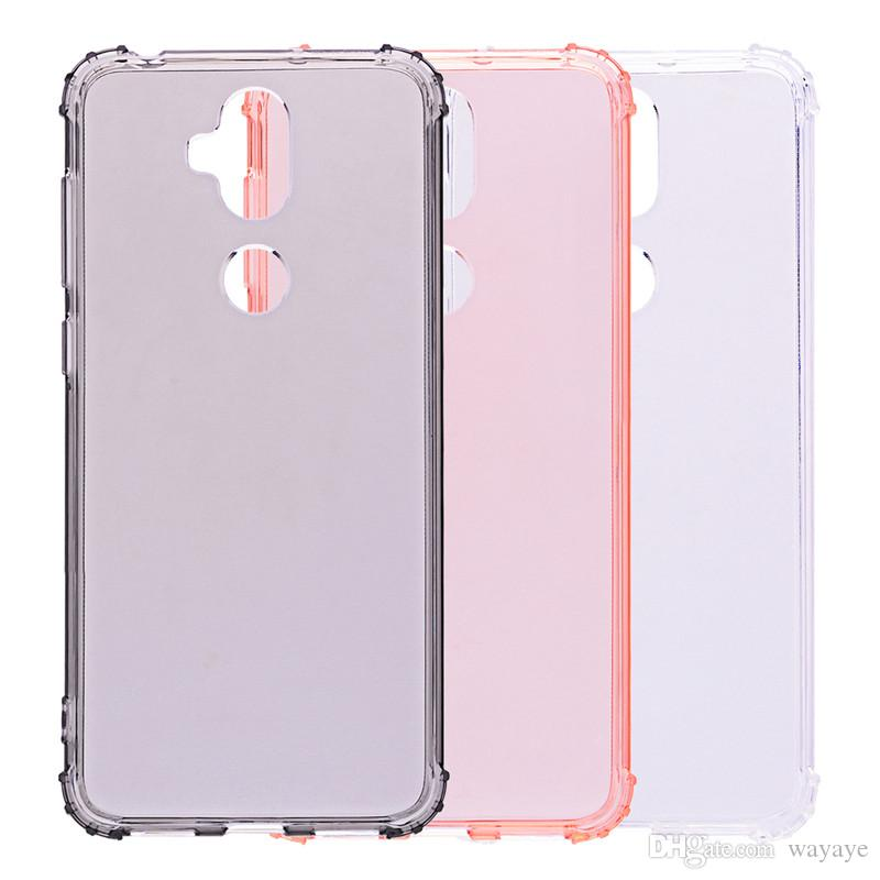 CDD Cell Phone Case for ASUS Zenfone 5 Lite ZC600KL ZE620KL ZS620KL MAX M1  ZB555KL TPU Back Cover