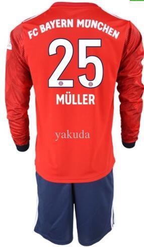 11 23 19 JAMES 18 Da Lunga Calcio Uomo 5 VIDAL ROBBEN LEWANDOWSKI ALABA Con 27 Camicie 19 Bayern 23 Acquista 10 A 25 HUMMELS Müller 9 Manica Monaco Shorts fpqpxdv
