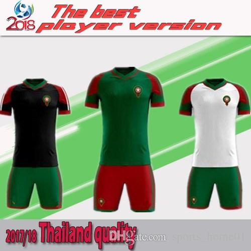 4b69b30db 2019 Morocco 2018 World Cup Soccer Jersey Kits Shirts Ready For Sale! The  Final Version Is Based On The Formal Version. Now Order A Big Discount From  ...
